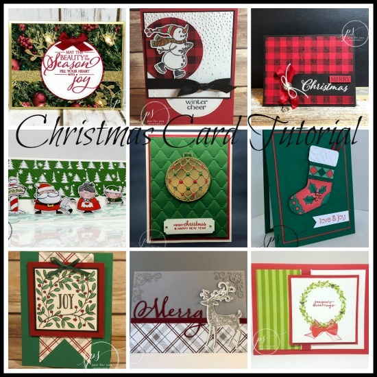 Stampin' Up! Christmas Card Tutorials, Stampin' Studio