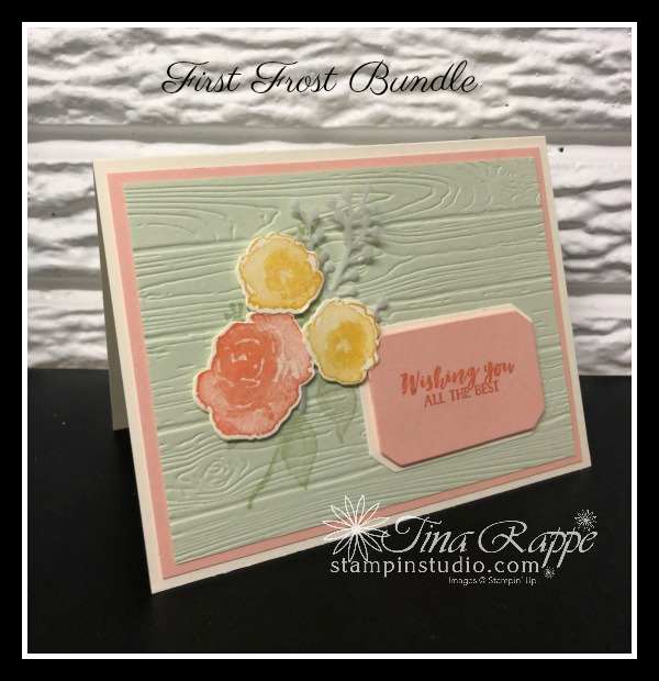 Stampin' Up! First Frost bundle, Stampin' Studio