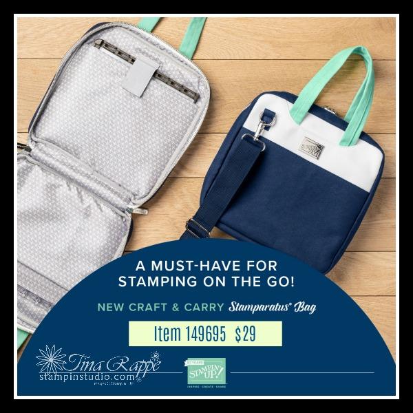 Stampin' Up! Stamparatus Craft & Carry Bag, Stampin' Studio