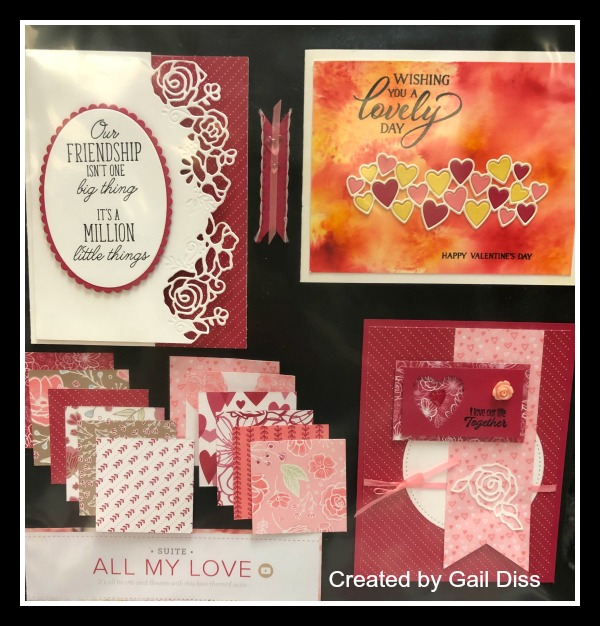 Stampin' Up! All My Love Suite, Valentine's Stampin' Studio