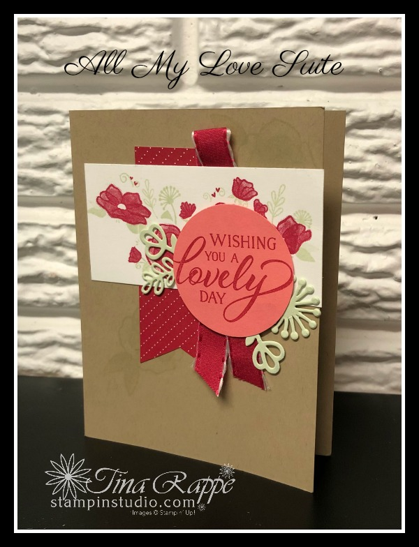 Stampin' Up! All My Love Suite, Stampin' Studio