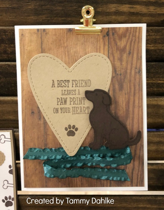 Stampin' Up! Happy Tails stamp set, Dog Builder Punch, Happy Tails Bundle, Stampin' Studio