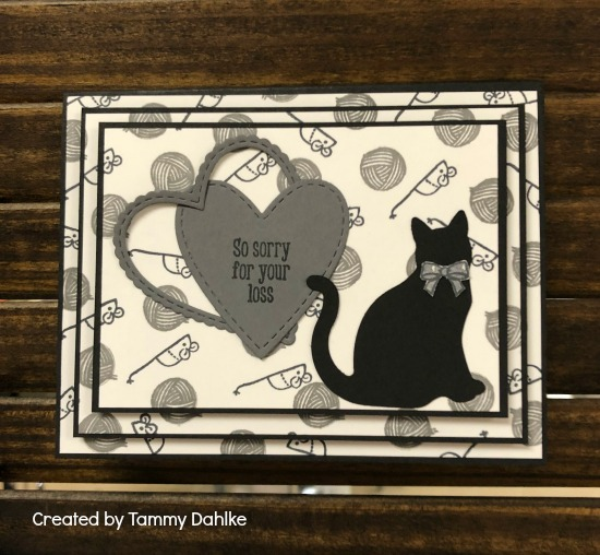 Stampin' Up! Nine Lives stamp set, Cat Punch , Stampin' Studio