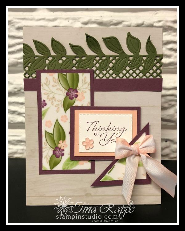 Stampin' Up! Floral Romance Suite, Wonderful Romance Bundle, Stamp Crop & Cruise retreat, Stampin' Studio