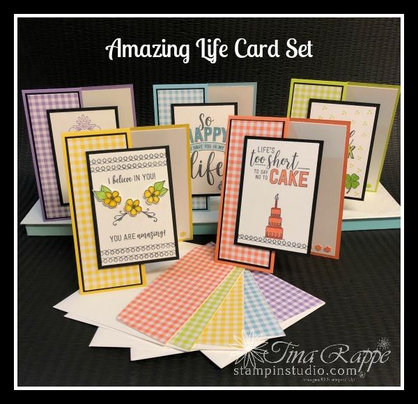 Stampin Up! Amazing Life stamp set, Stampin' Sisters Retreat, Stampin' Studio