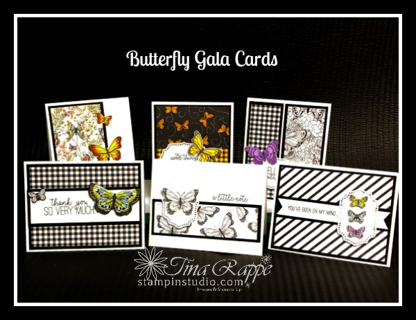 Stampin' Up! Butterfly gala stamp set, Butterfly Duet Punch, Stampin' Sisters Retreat, Stampin' Studio