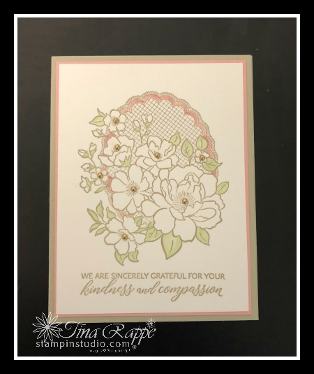 Stampin' Sisters Retreat 2019, Lovely Lattice stamp set, Comfort & Compassion stamp set,Stampin' Studio
