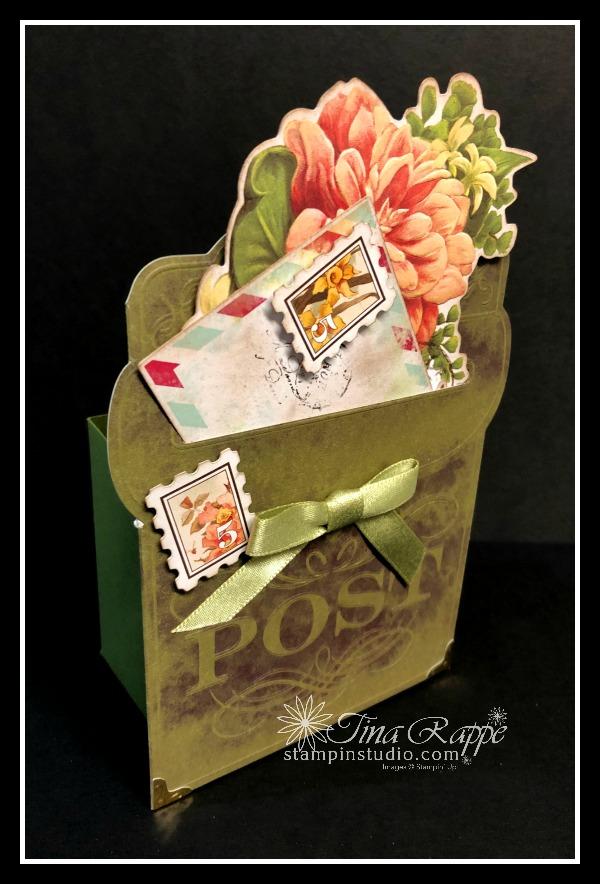 Stampin' Up! Precious Parcel Card Kit, Desk Set, 3-D,, Stampin' Sisters Retreat, Stampin' Studio
