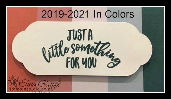 Stampin' Up! 2019-2021 In Colors, Stampin' Studio