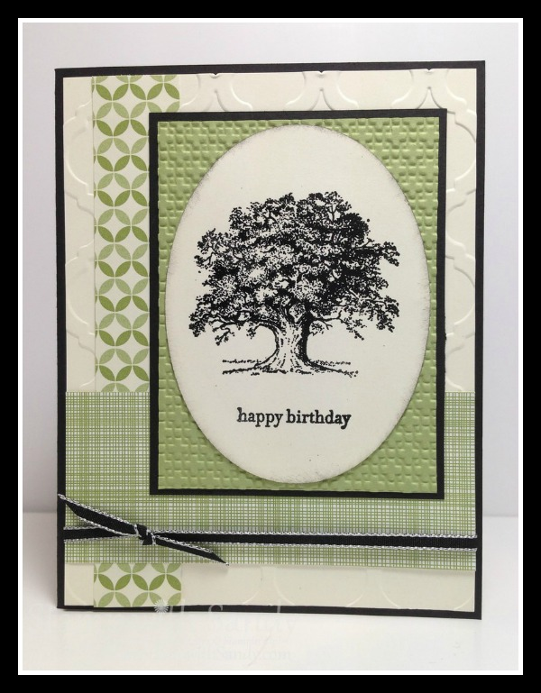 Stampin' Up! Lovely as a Tree, Stampin' Studio