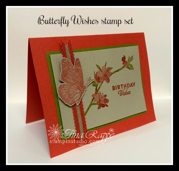 Stampin' Up! Butterfly Wishes stamp set, Stampin' Studio
