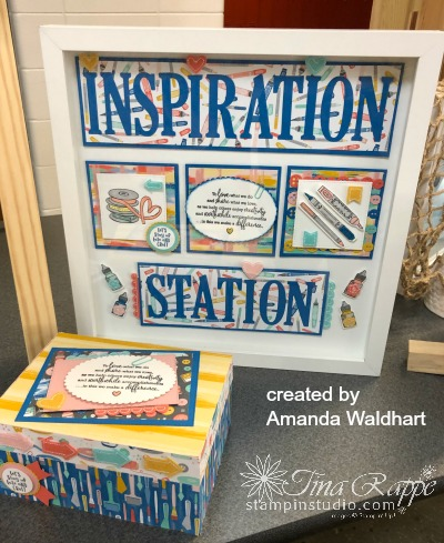 Stampin' Up! Follow Your Art Suite, Framed Art, Stampin' Studio