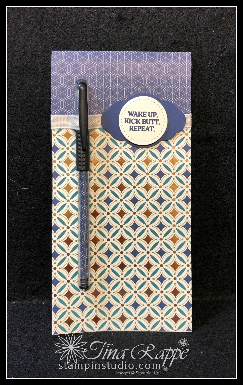 Stampin' Up! Brightly Gleaming Specialty Designer Series Paper, Enjoy Life stamp set, Stampin' Studio