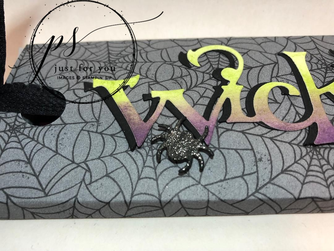 Stampin' Up! Wicked Dies, Monster Bash DSP, Stampin' Studio