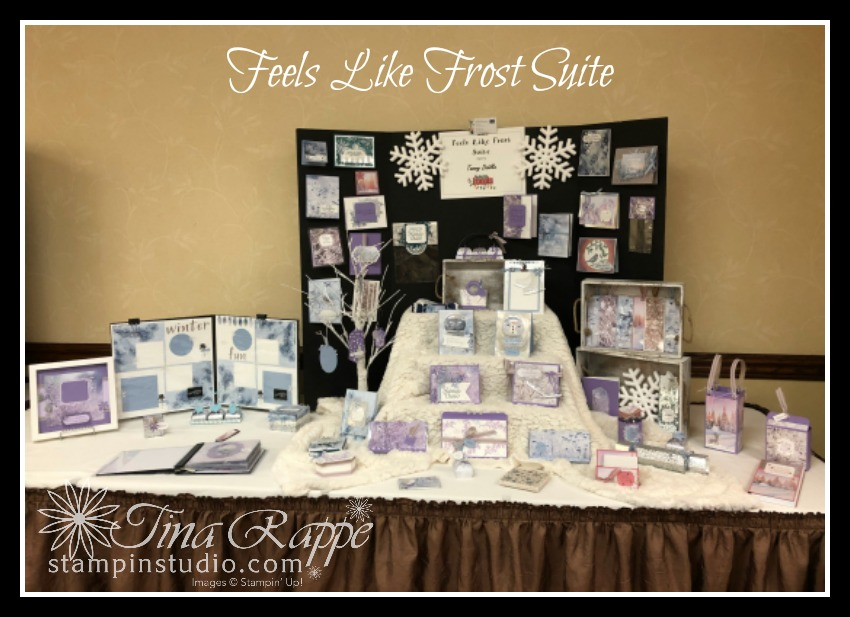 Stampin' Up! Feels Like Frost Suite, Stampin' Sisters Holiday Hoopla, Stampin' Studio
