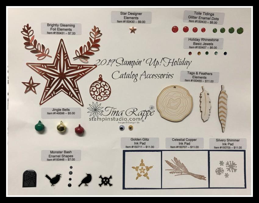 Stampin' Up! Holiday Catalog Ribbons & Accessories, Stampin' Studio