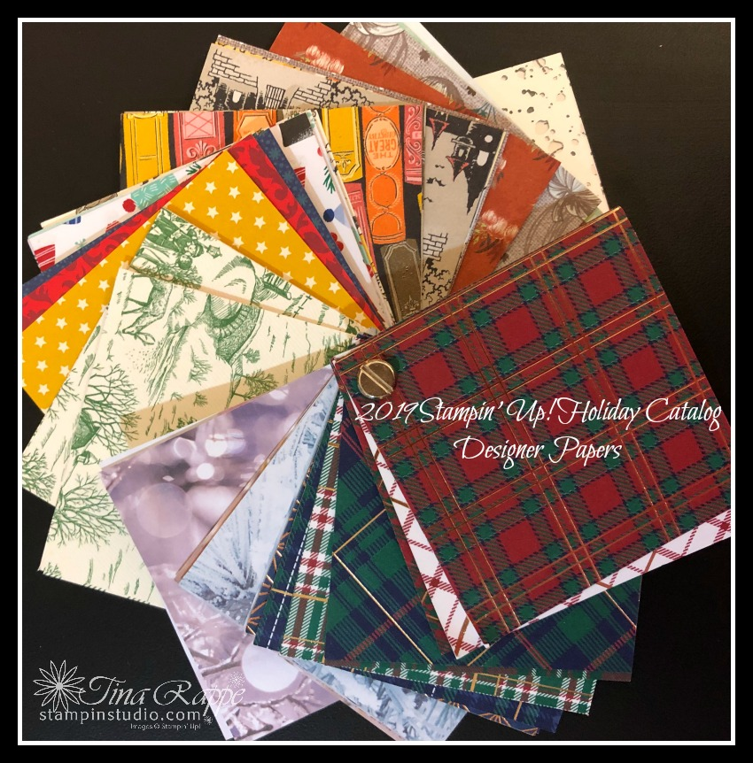 Stampin' Up! Holiday Catalog Designer Series Papers, Stampin' Studio