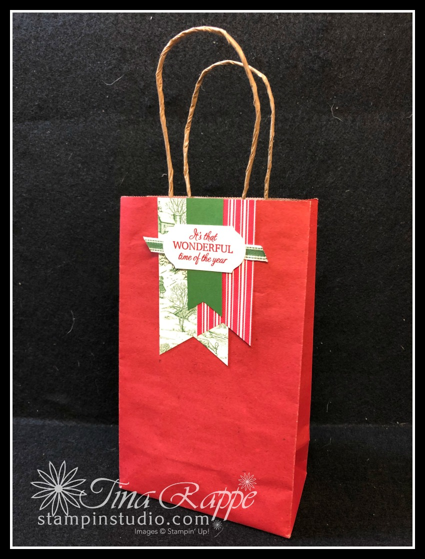 Stampin' Up! Toile Tidings DSP, Stampin' Sisters Holiday Hoopla, Stampin' Studio