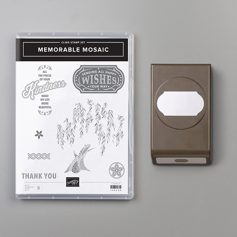 Stampin' Up! Memorable Mosaic Bundle, Stampin' Studio