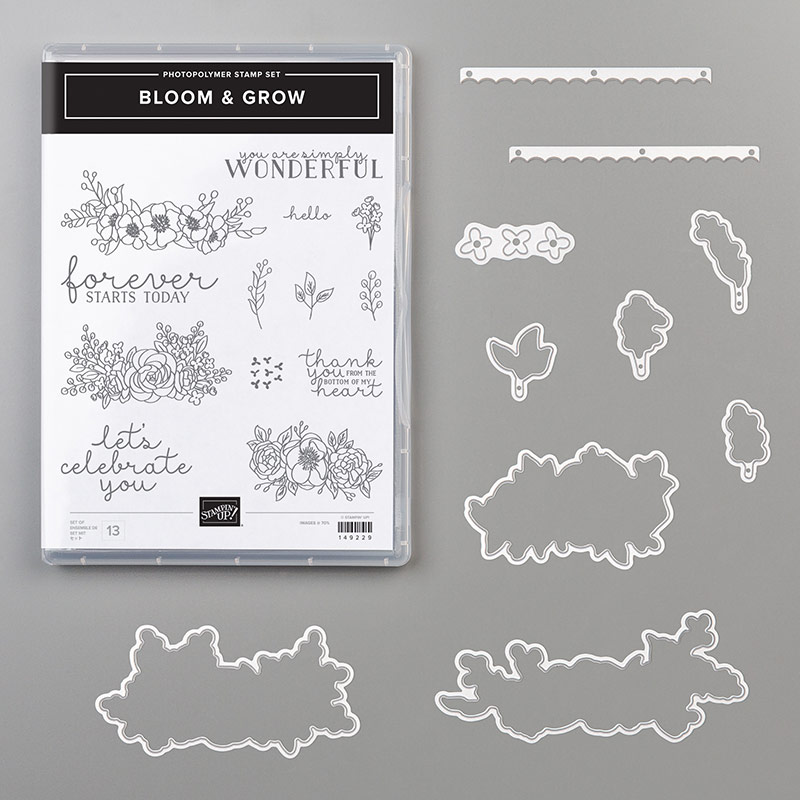 Stampin' Up! Bloom & Grow Bundle, Stampin' Studio