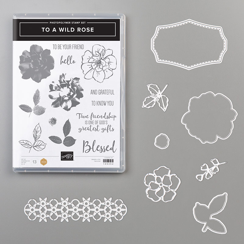 Stampin' Up! To a Wild Rose Bundle, Stampin' Studio