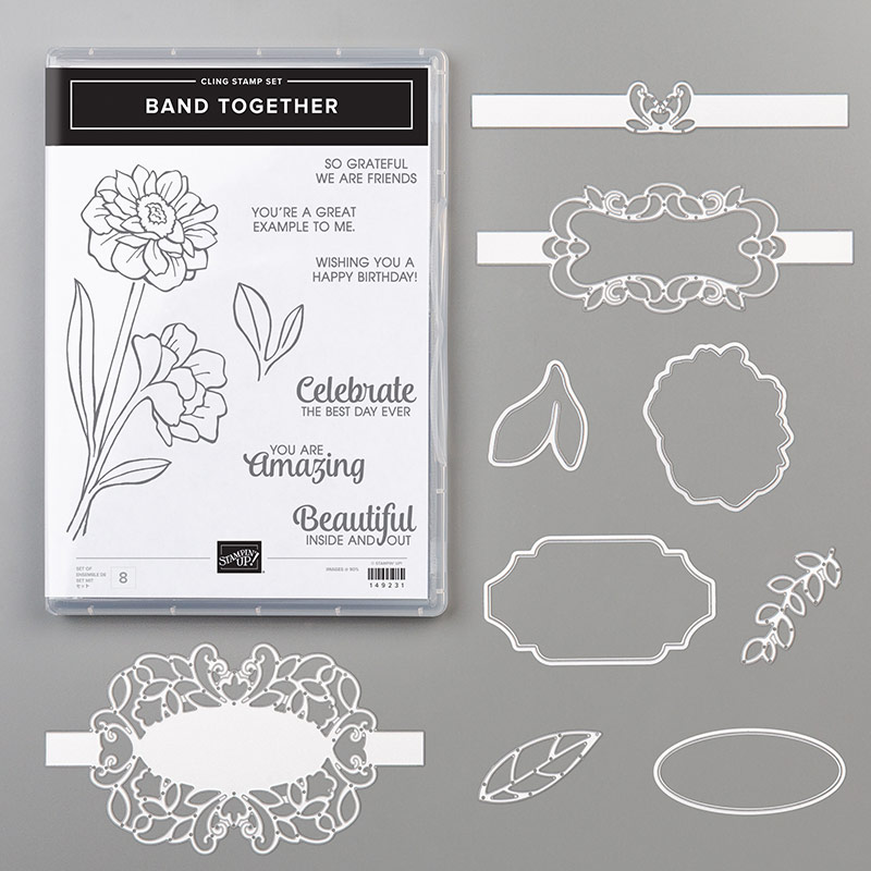 Stampin' Up! Band Together Bundle, Stampin' Studio