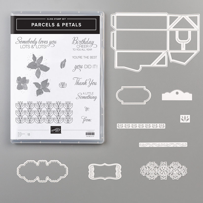 Stampin' Up! Parcels & Petals Bundle, Stampin' Studio