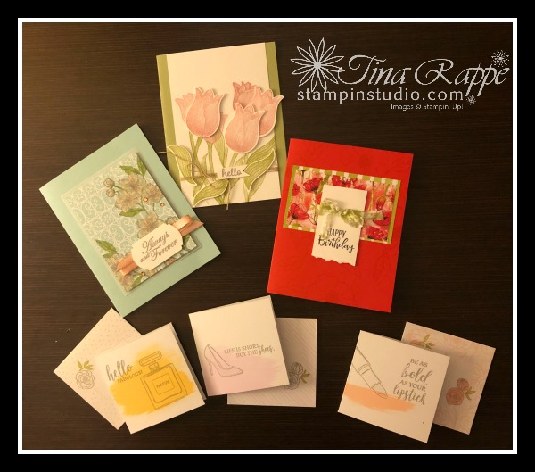 Stampin' Up!, Timeless Tulips Bundle, Best Dressed Suite Peaceful Poppies Suite, Parisian Blossoms Suite, Stampin' Studio
