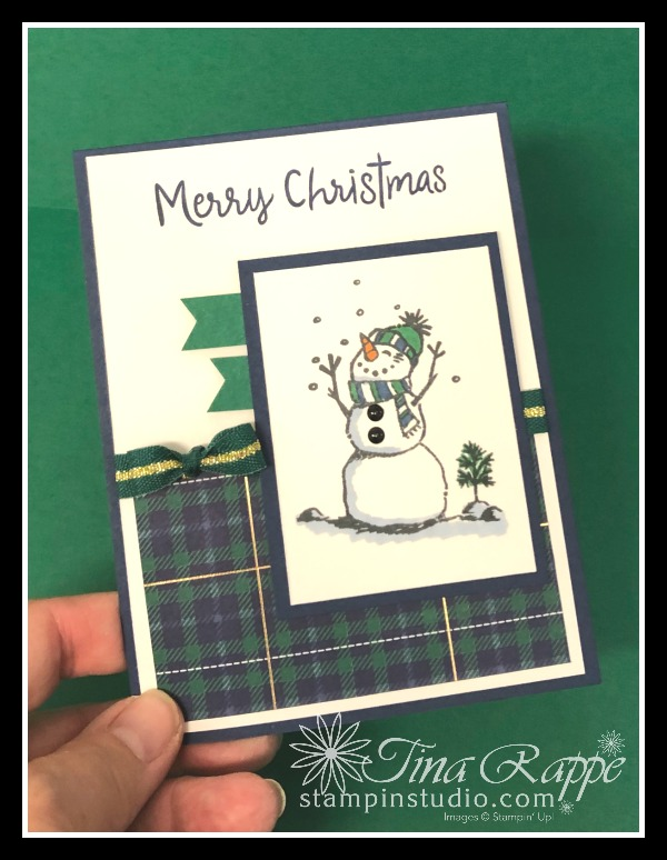 Stampin' Up! Snowman Season stamp set, Stampin' Studio