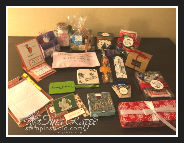 Stampin' Up! On Stage Stampin' Sisters Team Gifts, Stampin' Studio