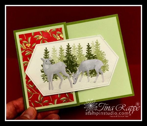 Stampin' Up! Most Wonderful Time Product Medley, Z-Fold Money Holder, Fun Fold, Stampin' Studio