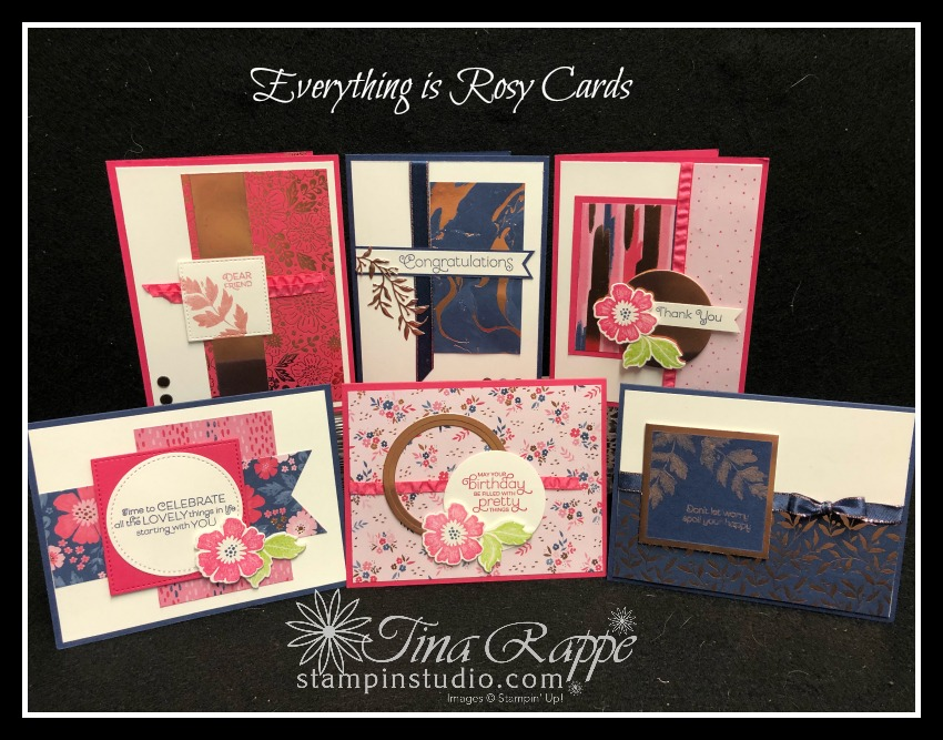 Stampin' Up! Everything is Rosy Product Medley, Stamp Crop & Cruise, Stampin' Studio