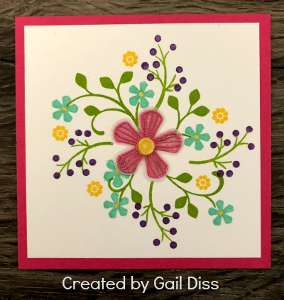 Stampin' Up! Framed Art Spring Sampler, Stampin' Studio