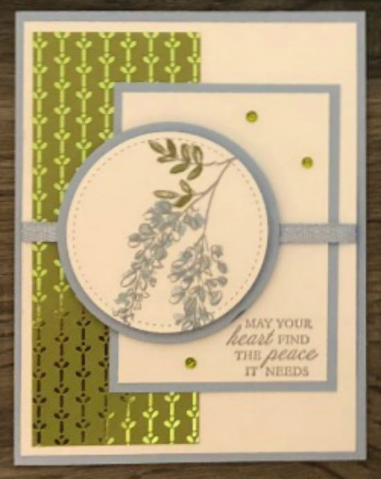 Stampin' Up! Soft Spring stamp set, Here's a Card stamp set, Stampin' Studio