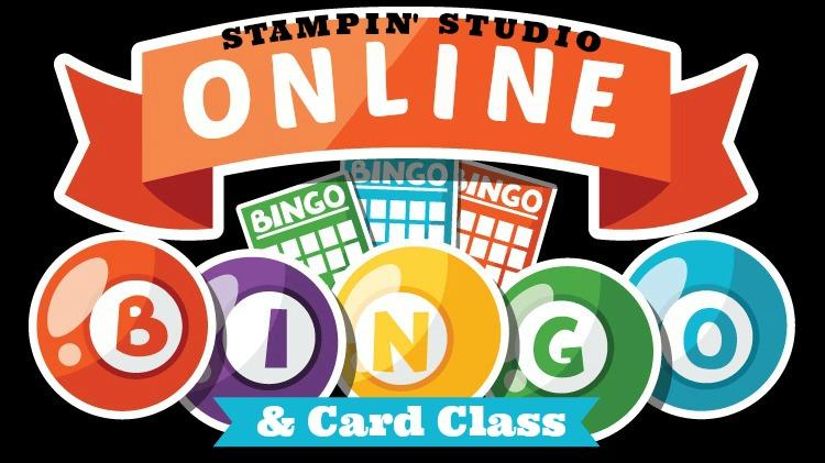 Online Bingo & Card Class, Stampin' Studio