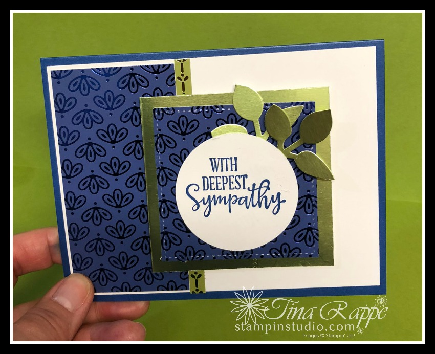 Stampin' Up! Nobel Peacock Specialty DSP, Peaceful Moments, Stampin' Studio