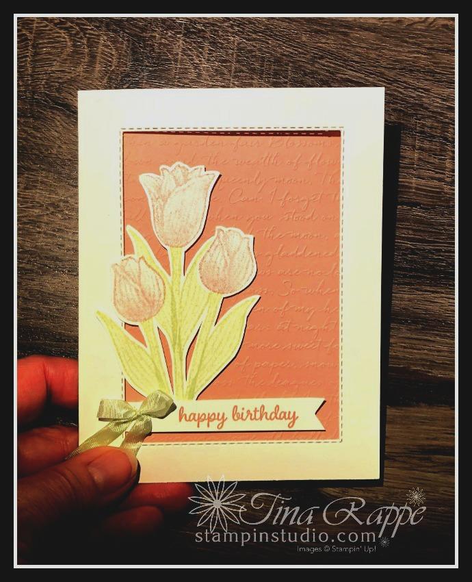 Stampin' Up! Timeless Tulips stamp set, Stampin' Studio